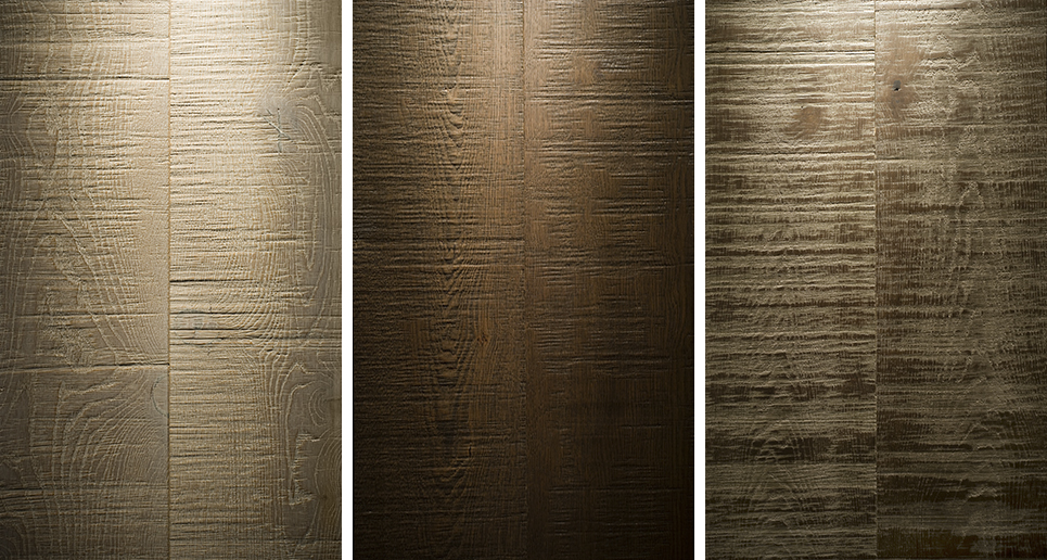 Laminate textured floors